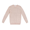 SEAN CREWNECK SWEATER BISCUIT