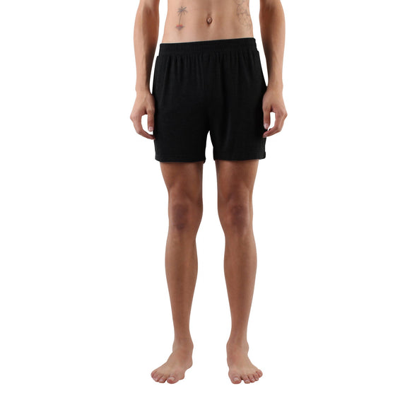 Cotton Modal Everyday Boxers - Black