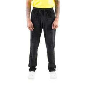 VELOUR BASIC JOGGERS - BLACK