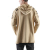 KHAKI DESTROYED PATCH FRENCH TERRY HOODIE