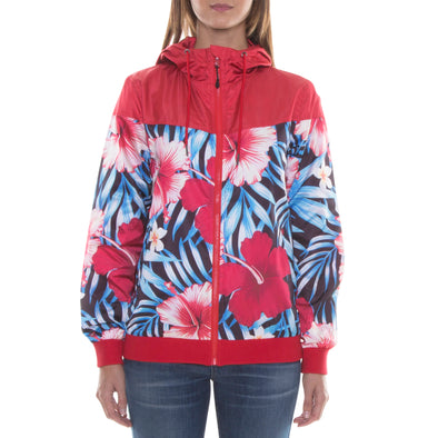RED/BLACK LIGHT HOOD JACKET