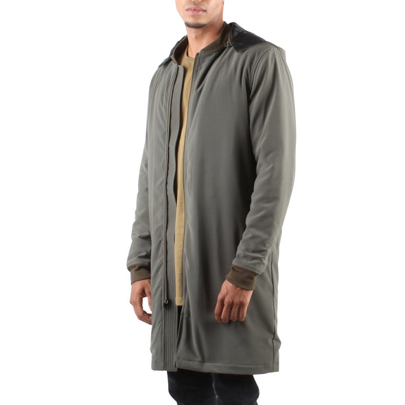LONG JACKET - ARMY GREEN