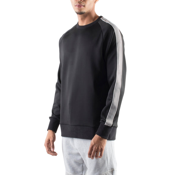 SPORTY SWEATSHIRT - BLACK