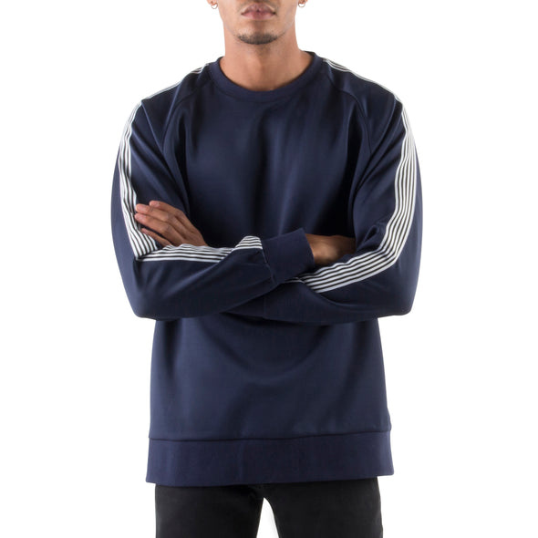 SPORTY SWEATSHIRT - NAVY