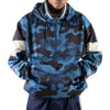 BLUE CAMO LIGHT PULLOVER JACKET