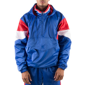 ROYAL BLUE PULLOVER JACKET
