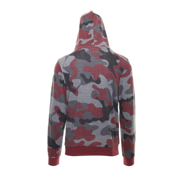 CAMO CROSSOVER HOODIE