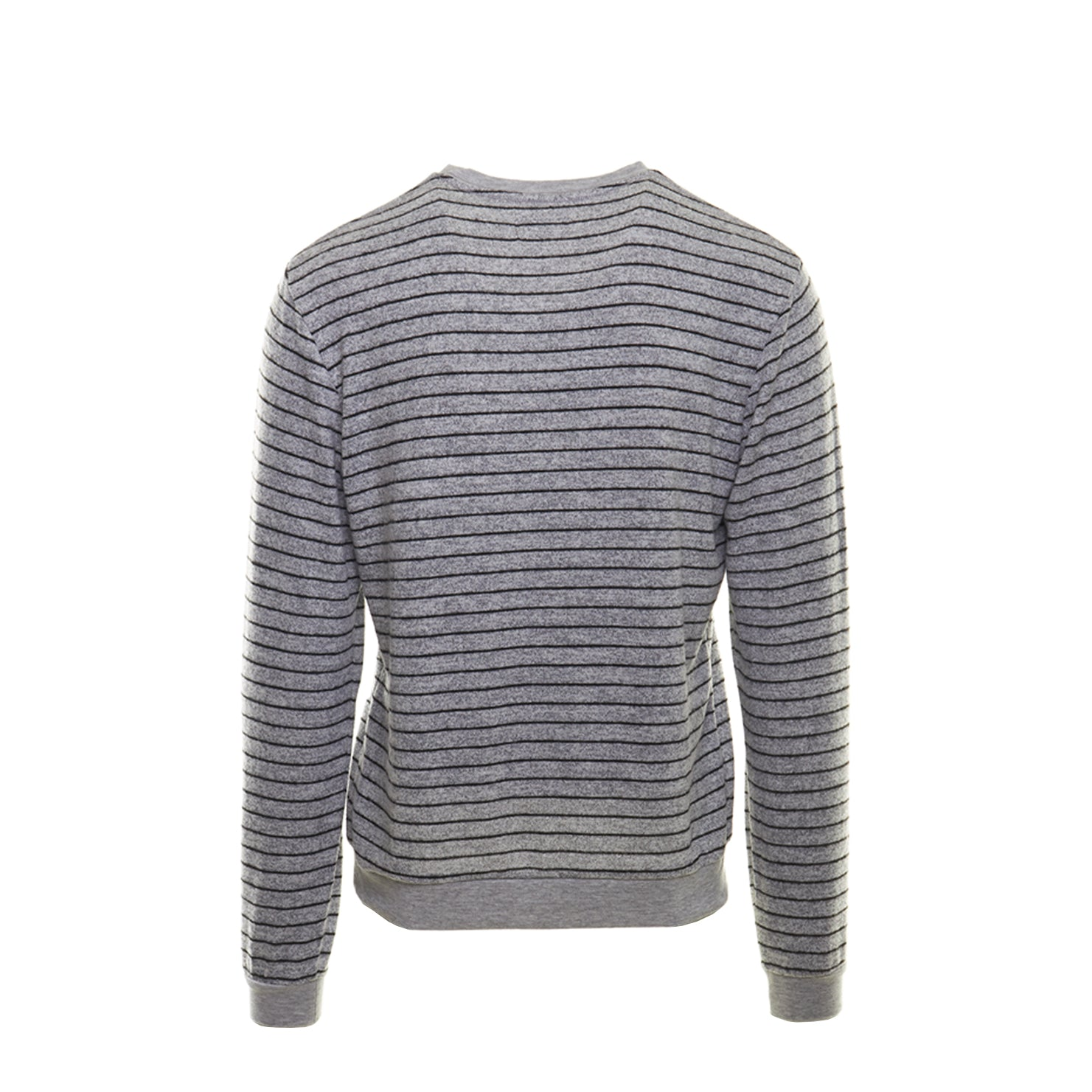HACCI SWEATSHIRT - GREY/BLACK STRIPE