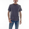 HACCI CREW NECK TEE - ANTHRACITE/BLACK