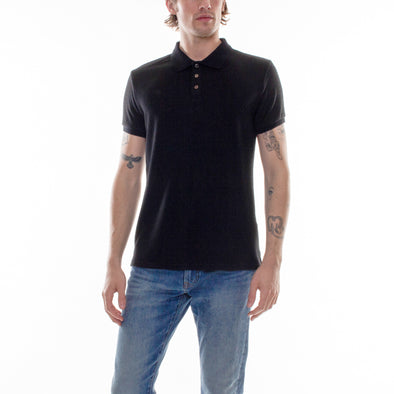 HACCI POLO - BLACK
