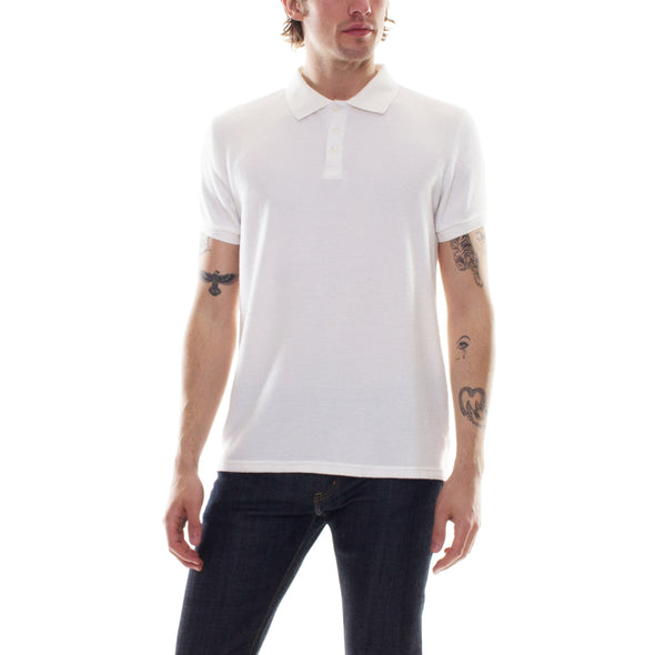 HACCI POLO - WHITE
