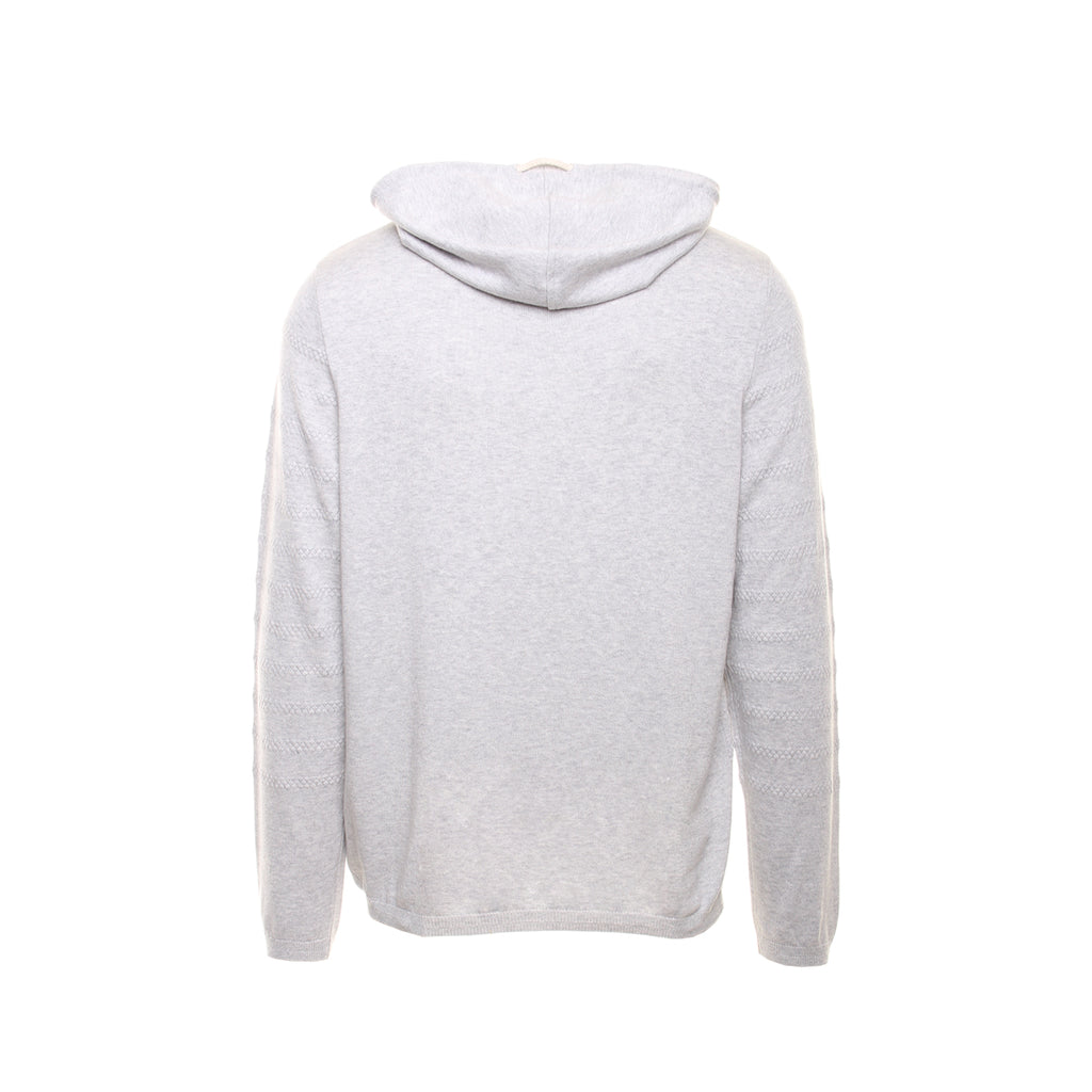 CROSSOVER HOODED SWEATER
