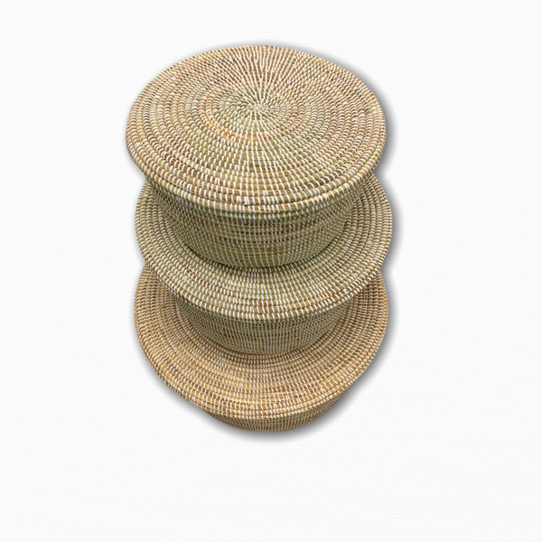 Mballo Round Baskets