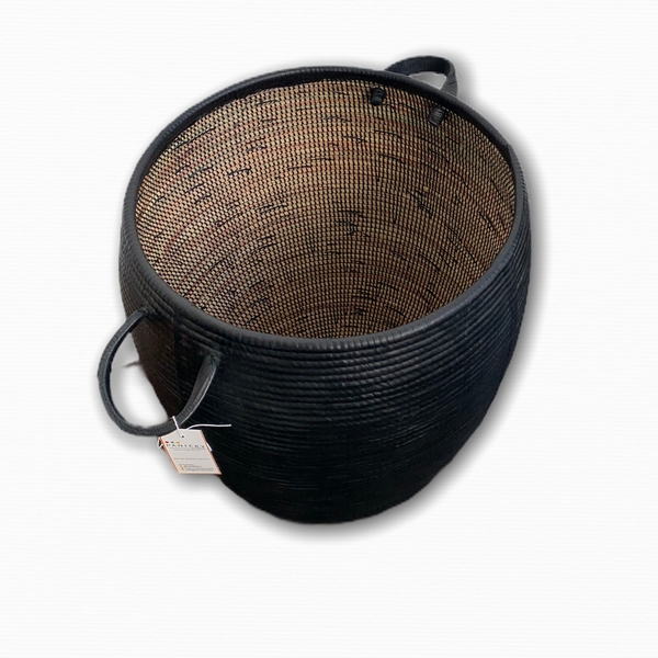 Nami Leather Basket
