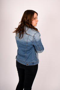 Casual Washed Denim Jacket