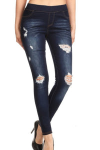 Live-in Pull-on Denim Jeans