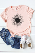 Load image into Gallery viewer, Sunny Sunflower Tee