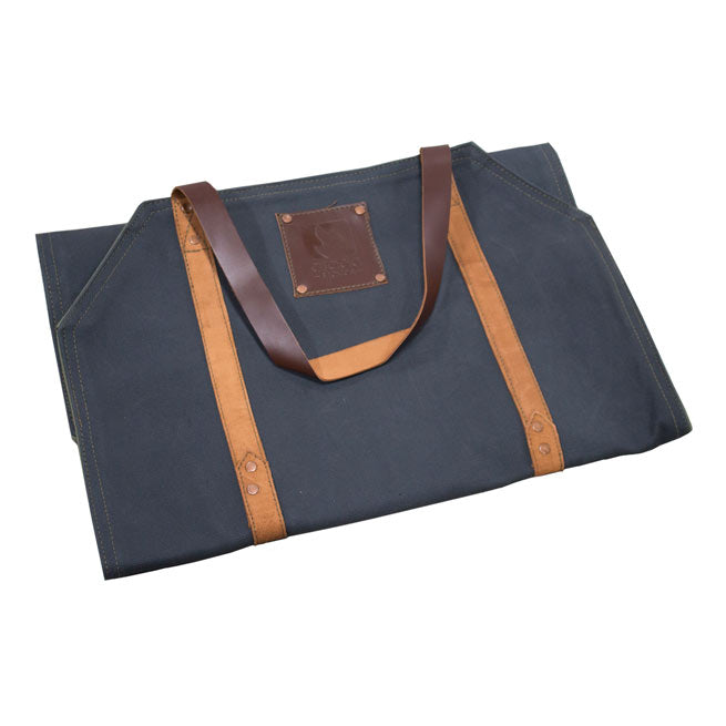 Arada Canvas & Leather Log Carrier
