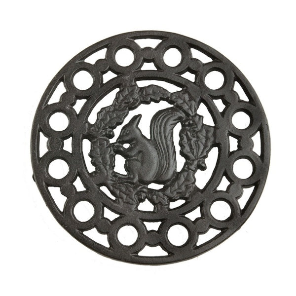 Morso Trivet with Squirrel motif