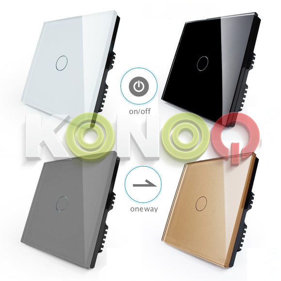 Konoq 1 Gang / 1 Way On/Off Switch