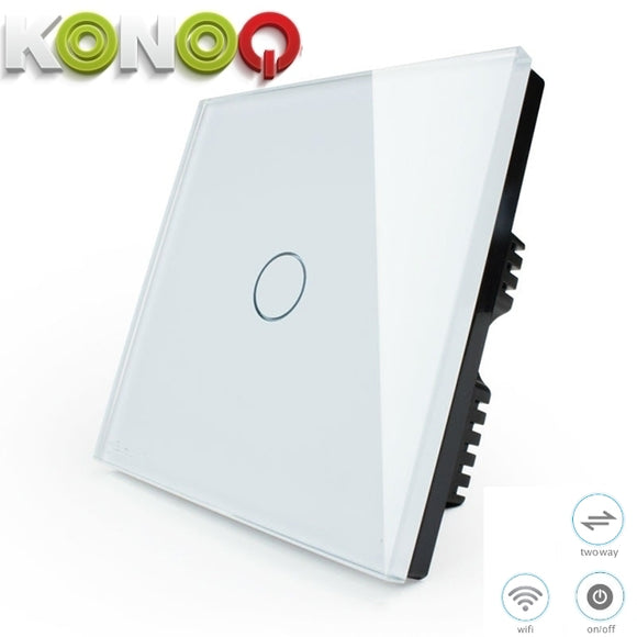 KONOQ - 1Gang 2Way Wifi Integrated On/Off
