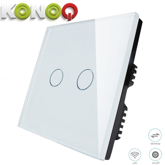 KONOQ - 2Gang 2Way Wifi Integrated On/Off