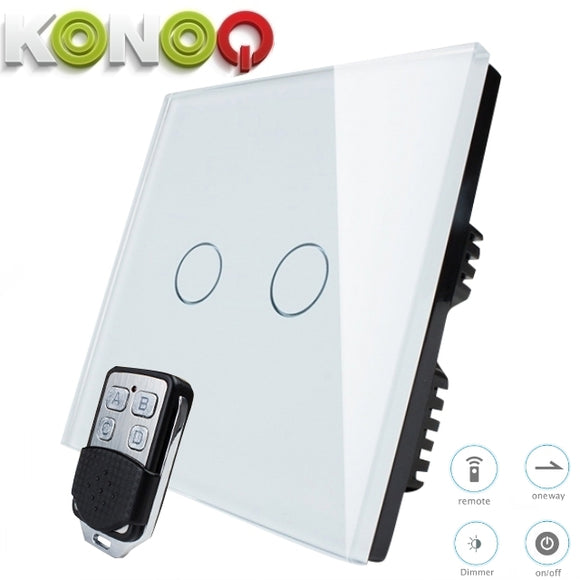 KONOQ - 2Gang 1Way Remote Dimmer Switch