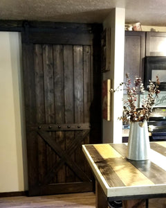 Bottom Brace Interior Barn Door