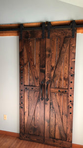 British Brace Double Barn Doors