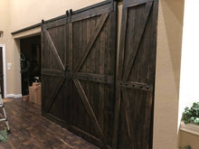 Load image into Gallery viewer, British Brace Double Barn Doors