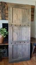 Load image into Gallery viewer, Rustic Rough Sawn Fir Barn Door - Barn Hardware optional - Custom