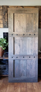 Rustic Rough Sawn Fir Barn Door - Barn Hardware optional - Custom