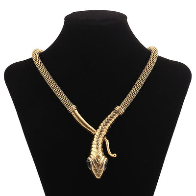 Collier Égyptien <br> Serpent