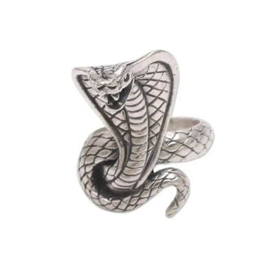 Bague Égyptienne <br> Cobra Royal