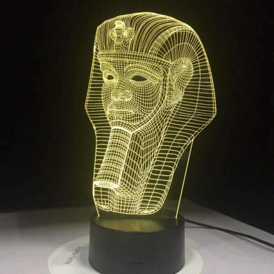 Lampe Acrylique Toutankhamon | Egypte Antique Shop