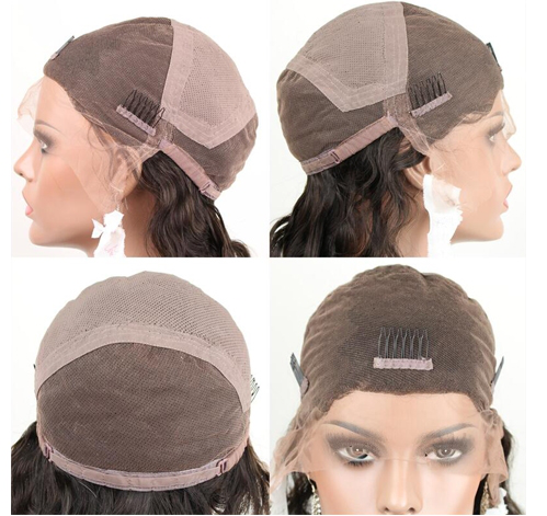 Full Lace Wig Cap Add Adjustable Strap and Combs