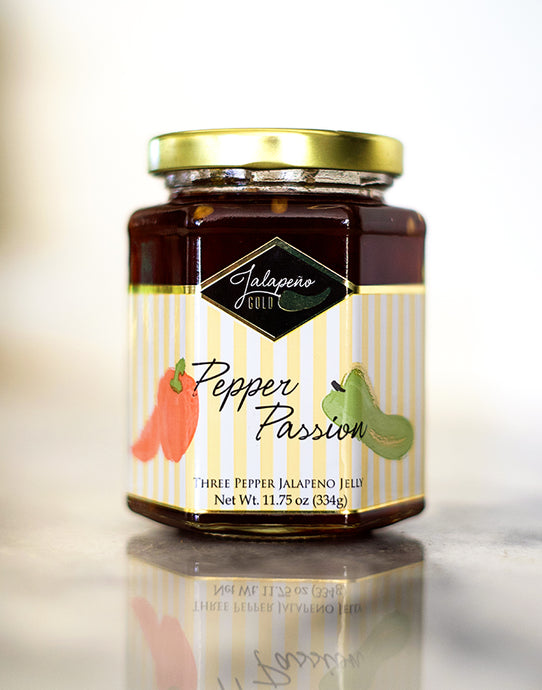 Pepper Passion: Three-Pepper Jelly