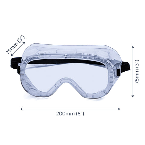 Premium Protective Safety Goggles