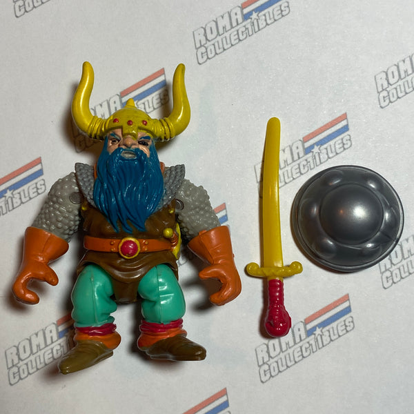 LJN Dungeons and Dragons - 1983 ELKHORN The Dwarf - Complete DnD