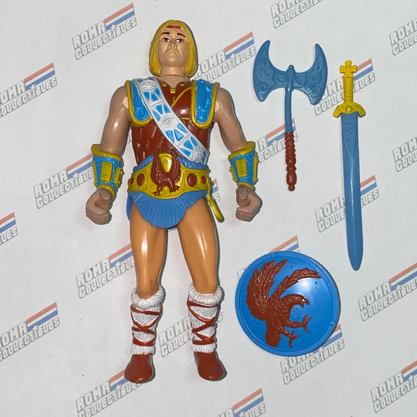 LJN Dungeons and Dragons - 1983 NORTHLORD - Missing helmet DnD