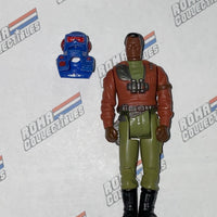 MASK Hasbro - HONDO MCLEAN w/ Blaster Mask - from the Figure Set
