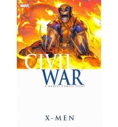 Marvel Graphic Novel - CIVIL WAR: X-MEN - Hardcover, used (read once or twice then shelved)