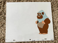 EWOKS Animation Cel - WEECHEE 004 - with white background and original pencil art