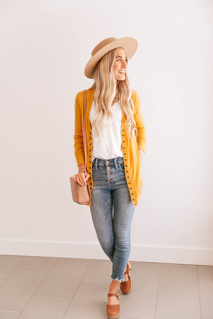 Duster Button Cardigan
