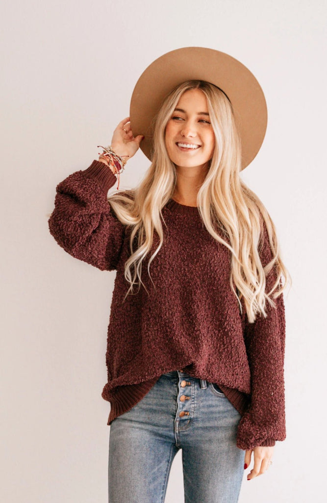 Oversized Textured Sweater