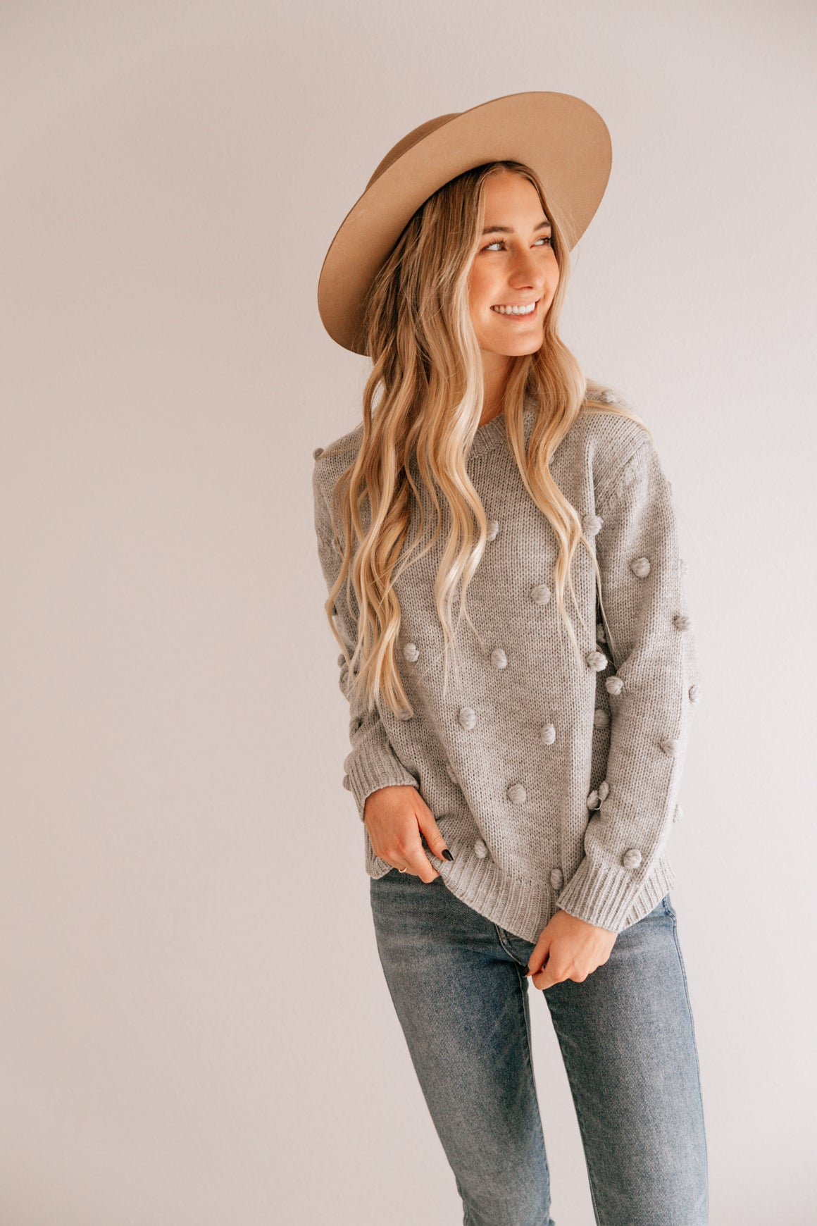 Perfect Pom Pom Sweater