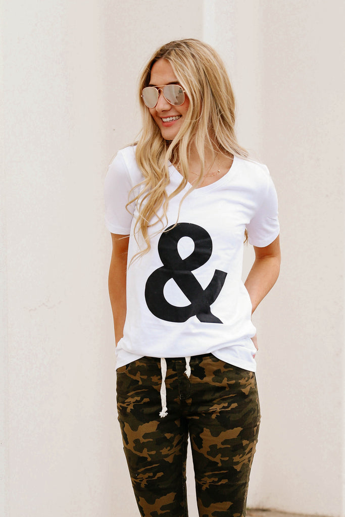 Everyday Ampersand Tee