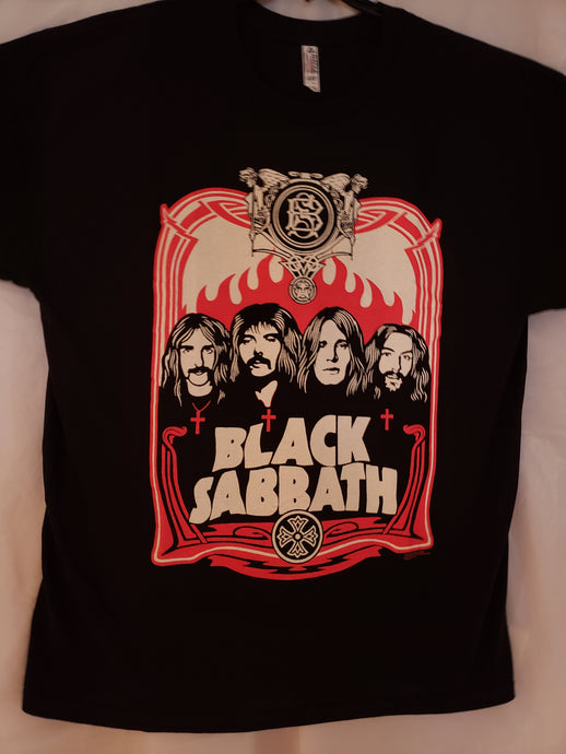 BLACK SABBATH T-SHIRT BRAND 2XL