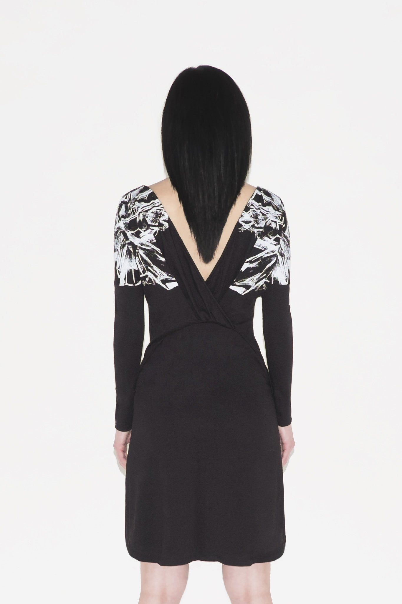 W Hera Crossed Back Dress