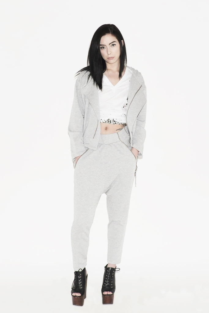 W Nummite Jogger Pants (Grey)